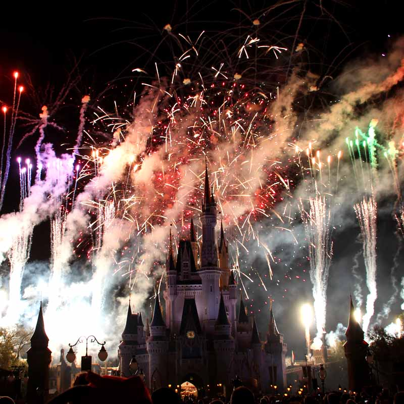 Wishes Firework Show – A Spectacular Disney Dream Moment