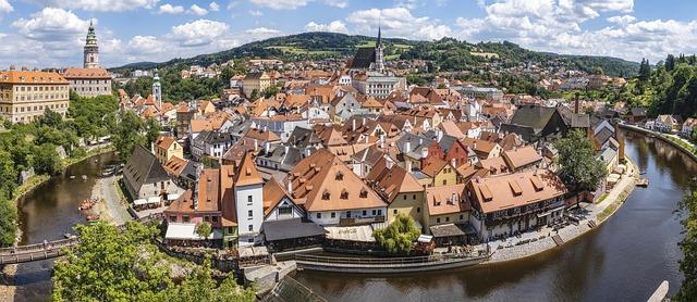 Český Krumlov, Czech Republic, solo travelers