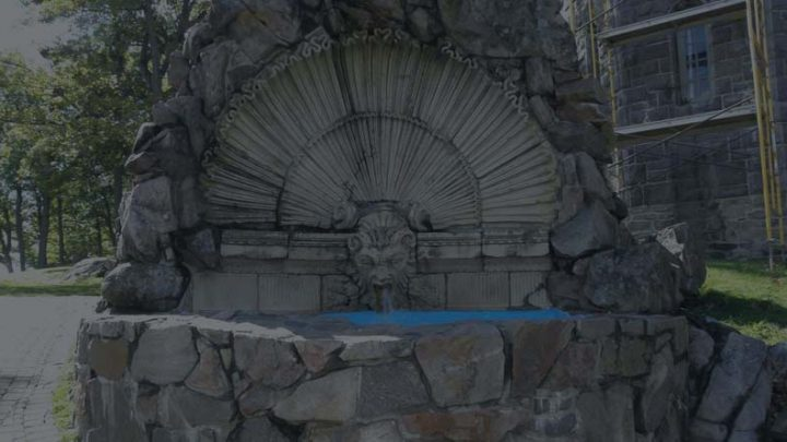 The Shell Fountain of the Boldt Castle